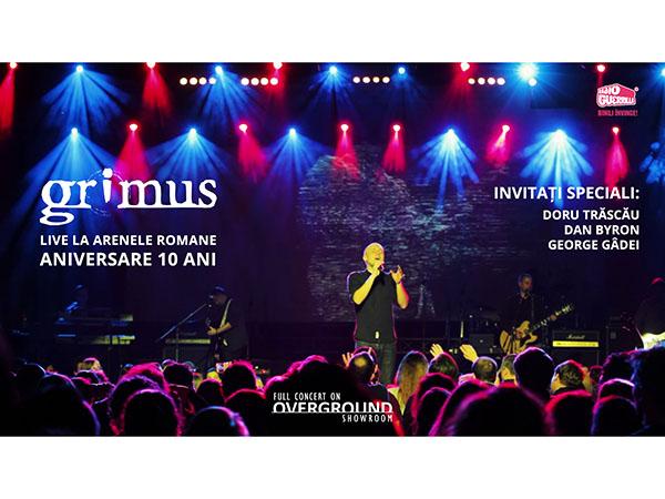 Grimus – 10 ani, concert difuzat online de Revelion
