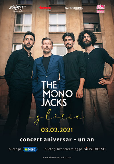 The Mono Jacks, concert online transmis din Expirat