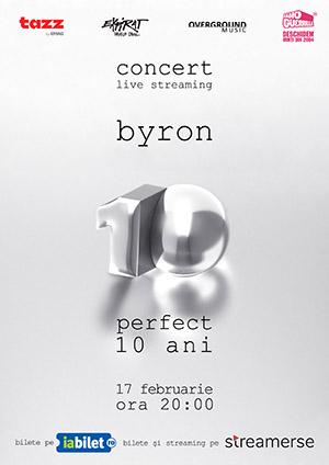 byron, concert aniversar online, live din Expirat