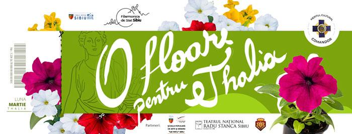 Filarmonica Sibiu oferă bilete contra flori