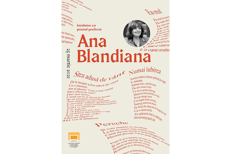 Ana Blandiana, aniversată la UNATC