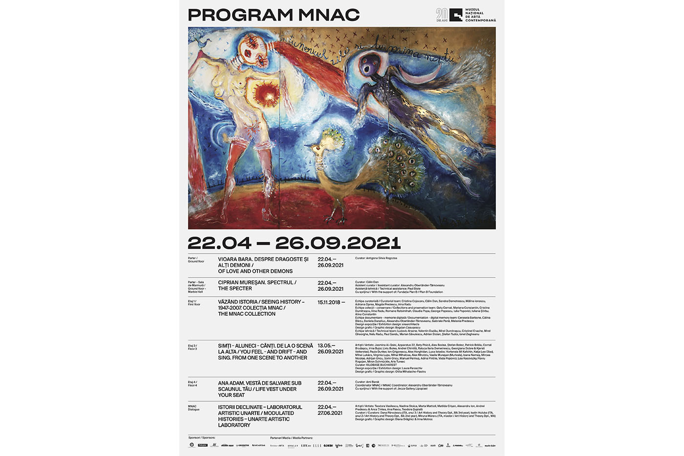 MNAC deschide sezonul expozițional pe 22 aprilie