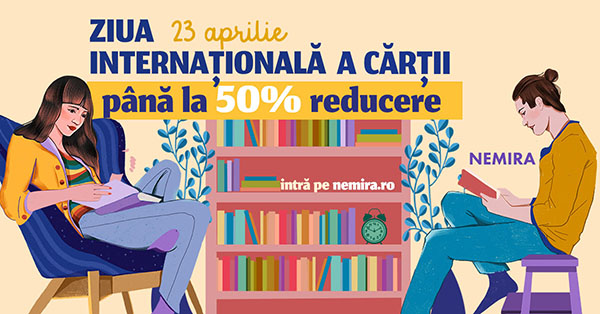 Ziua Internațională a Cărții: recomandările Editurii Nemira