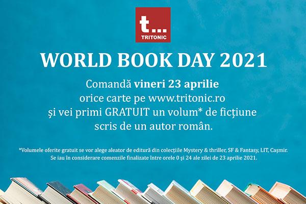 Ziua Internațională a Cărții: recomandările Editurii Tritonic