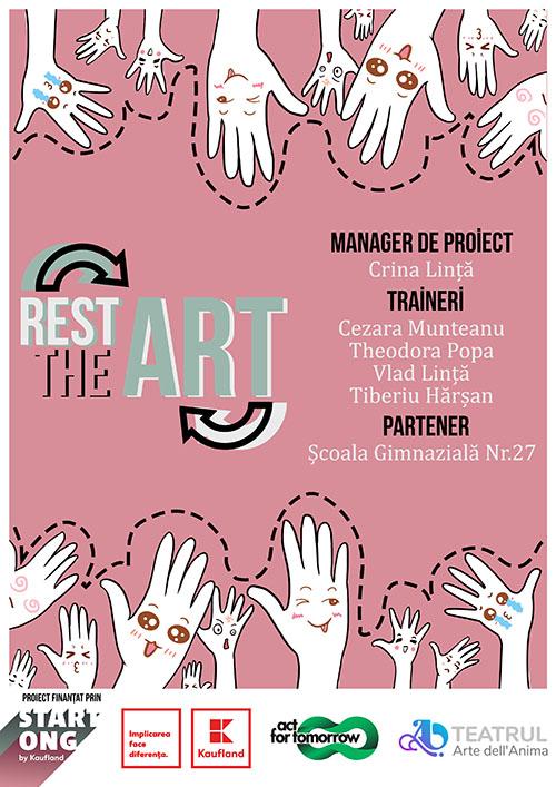 S-a lansat RESTART THE ART, un proiect cultural-educațional