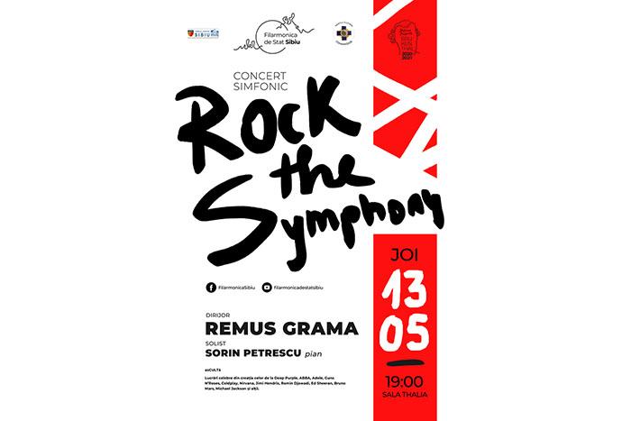 """""""Rock the Symphony"""", evenimentul săptămânii la sala Thalia"""