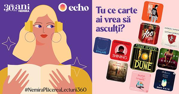 Editura Nemira a lansat prima selecție de audiobook-uri