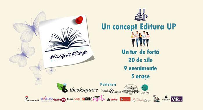 Editura UP organizează a doua ediție a campaniei #Fii diferit #Citește