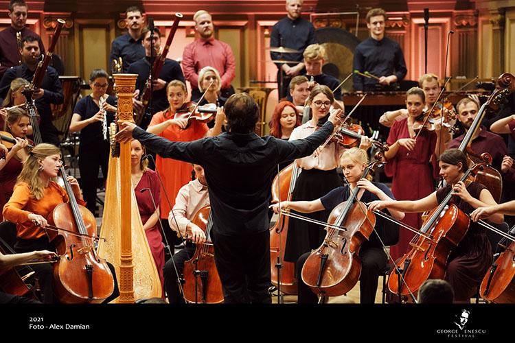 Festivalul Enescu: Filarmonica Mării Baltice, un spectacol remarcabil la Ateneul Român