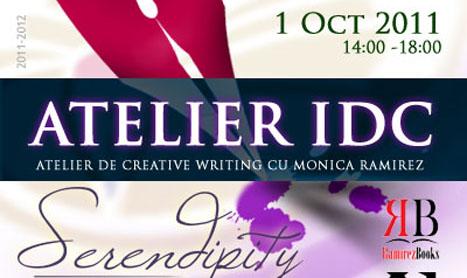 Atelier de creative writing pe 1 octombrie