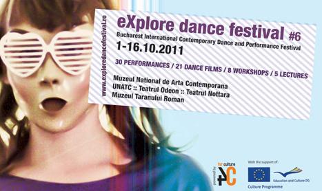 eXplore dance festival incepe la 1 octombrie