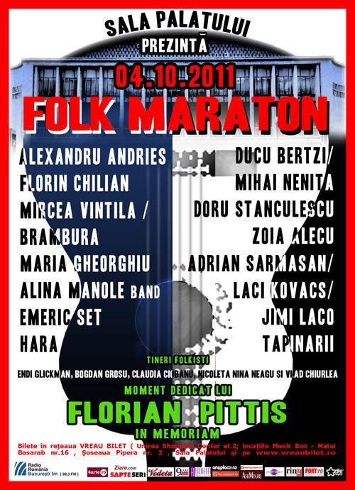 Folk Maraton a fost reprogramat pe 9 noiembrie