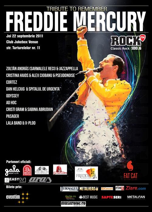 Noua trupe canta in amintirea lui Freddie Mercury