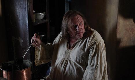 """Gérard Depardieu a inceput filmarile pentru """"Ipu"""" la Sighisoara"""