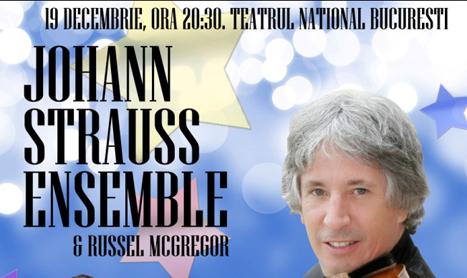 Johann Strauss Ensemble vine pentru a saptea oara in Romania