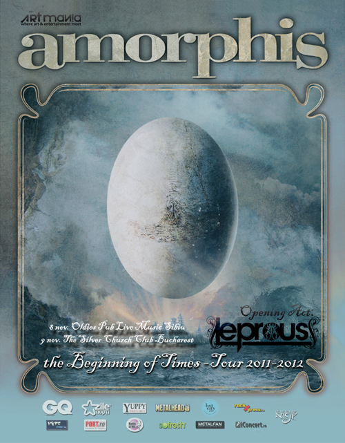 Leprous revine in Romania alaturi de Amorphis