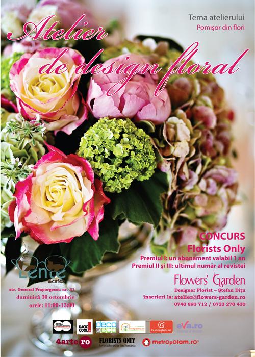 Atelier de design floral si concurs