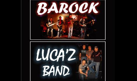 Barock si Luca'z Band canta in Joy Pub