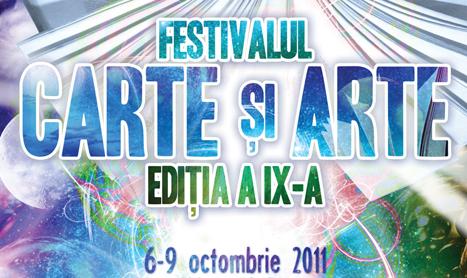 Festivalul Carte si Arte incepe in 6 octombrie