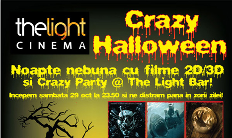 The Light Cinema pregateste un Halloween nebun