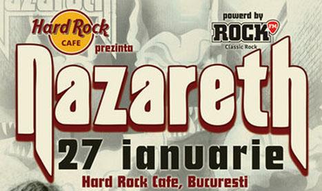 Trooper este (din nou) opening act pentru Nazareth, pe 27 ianuarie