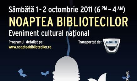 1 spre 2 octombrie, Noaptea alba a bibliotecilor