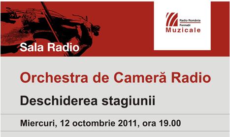 Stagiunea la Sala Radio se deschide pe 12 octombrie