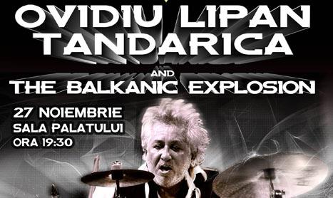Concert international: Ovidiu Lipan Tandarica and The Balkanic Explosion