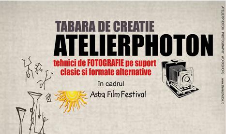 Tabara de creatie pentru fotografia pe film si metode alternative