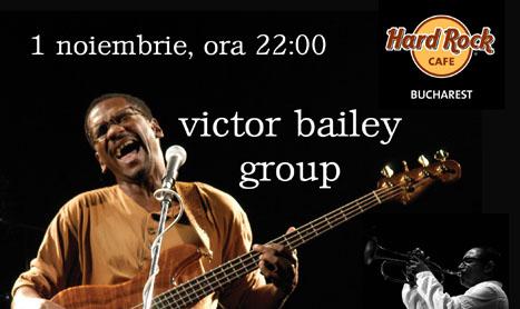 Bassistul Victor Bailey va concerta in Bucuresti si Sibiu