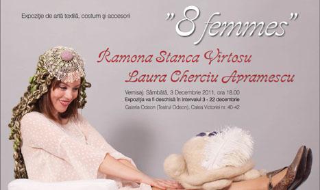 Expozitie de arta textila: 8 Femmes
