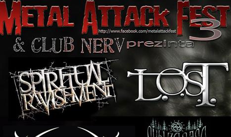 Metal Attack Fest a ajuns la editia a treia