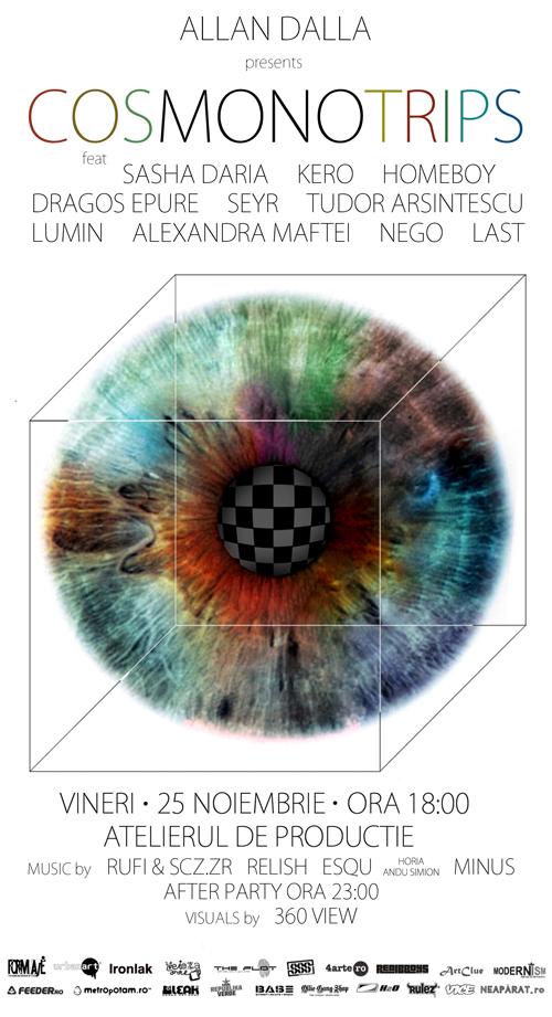"""Expozitie vizuala: """"Cosmonotrips"""""""