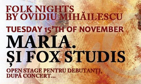 Concert Maria & Fox Studis in Club Mojo