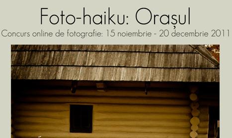 Premiera in Romania: concurs de foto-haiku