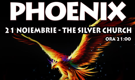 Phoenix canta undercover in The Silver Church