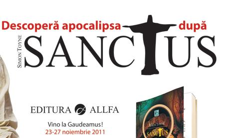 """Autorul romanului """"Sanctus"""" vine in Romania"""