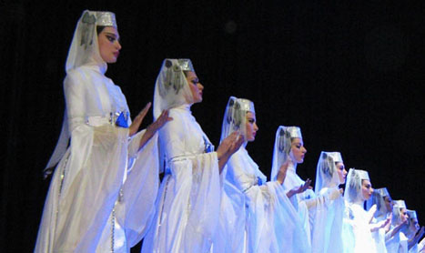 Sukhishvili – traditii georgiene in pasi de balet si dans