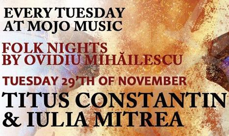 Titus Constantin si Iulia Mitrea canta in Mojo