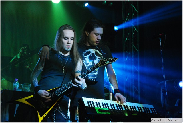 Cum si-au petrecut Children of Bodom, Ensiferum si Machinae Supremacy seara de 20 aprilie