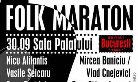 Folk Maraton, o prima editie reusita
