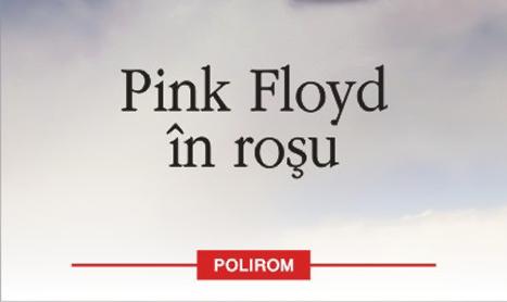"""""""Pink Floyd in rosu"""", un roman experimental dedicat celebrei trupe"""