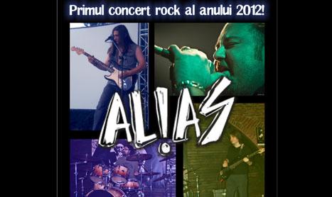 Al!as deschide seria concertelor rock din Sinner's pe 2012