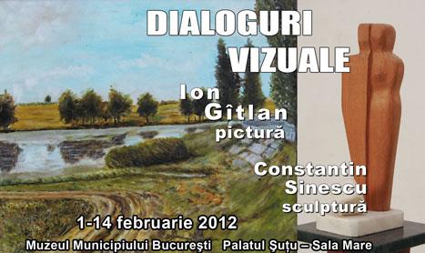 """Expozitie de pictura si sculptura: """"Dialoguri vizuale"""""""