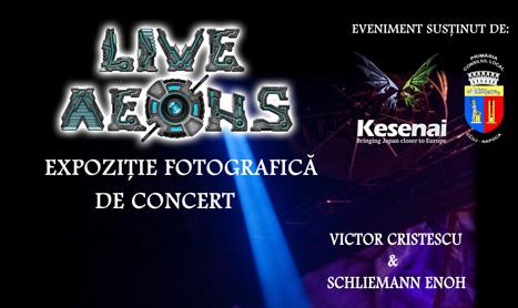 """""""Live Aeons"""", expozitie de fotografie de concert"""