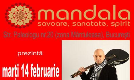 Concert Ovidiu Scridon de Ziua Indragostitilor