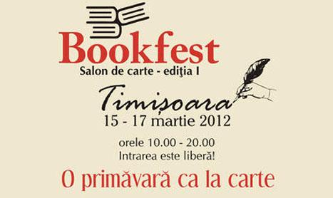 15-17 martie: Prima editie a Bookfest Timisoara