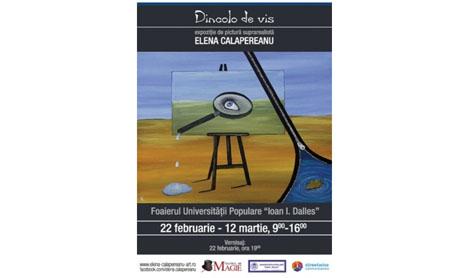 """Elena Calapereanu trece """"Dincolo de vis"""""""