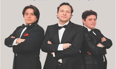 Concert vocal-simfonic: Seara celor trei tenori
