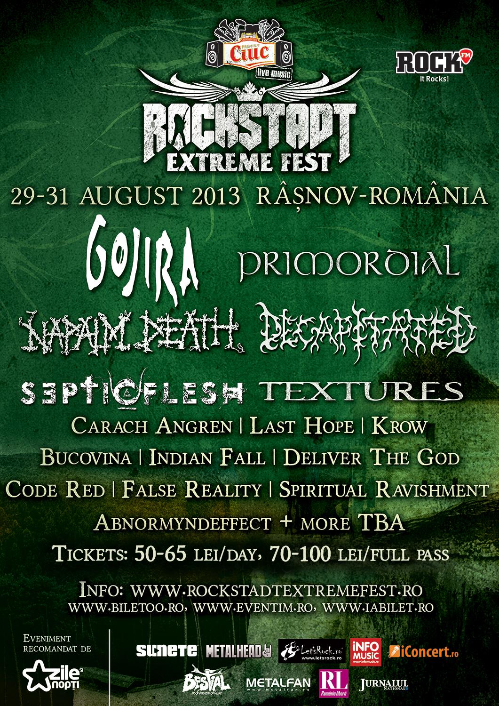 Gojira se alatura line-up-ului de la Rockstadt Extreme Fest